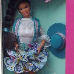 1989 Western Fun Nia Barbie